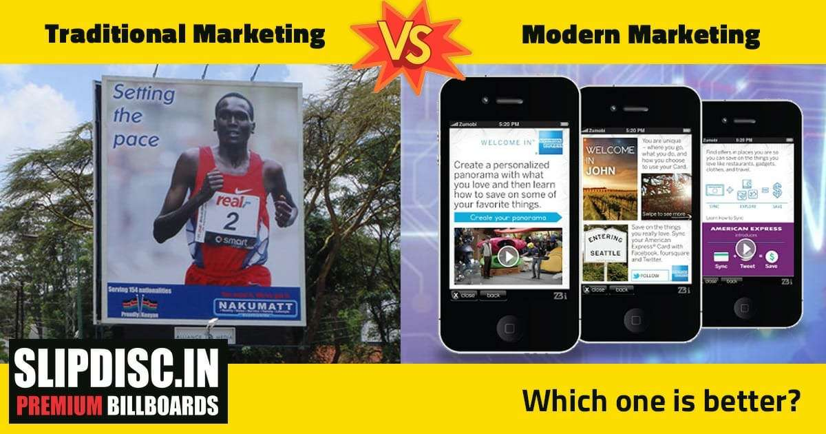Traditional Marketing Vs. Modern Marketing