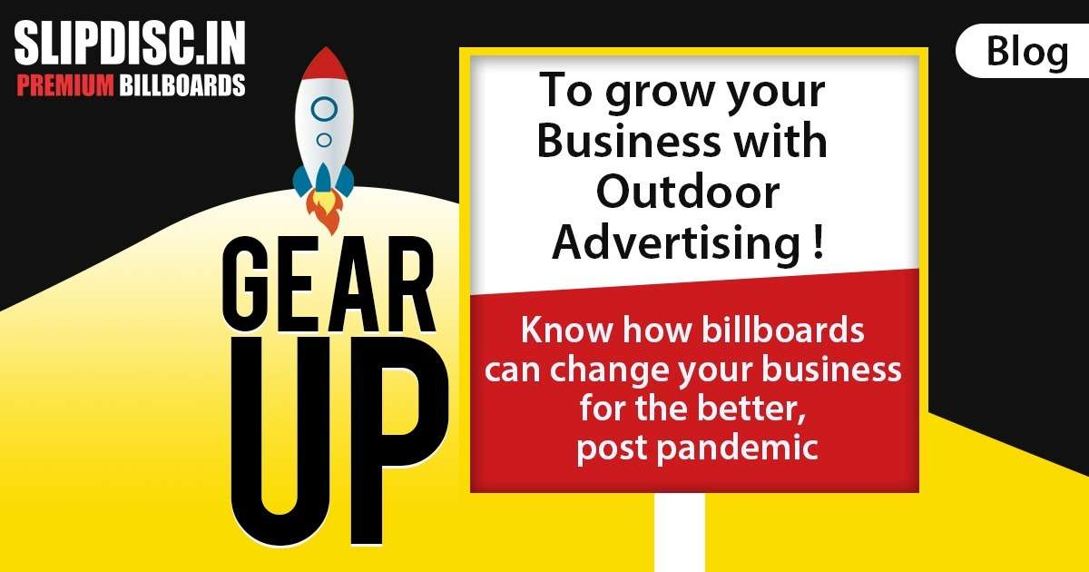 Importance of billboard advertising after pandemic situation in Goa