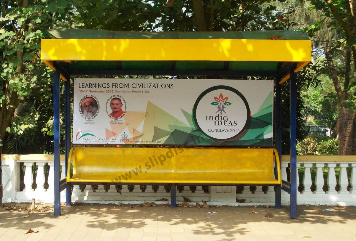 Bus Shelter Advertising Goa